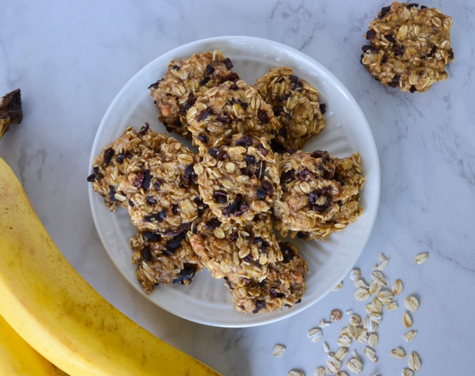 4 ingredient oatmeal cookies